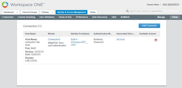 VMware Identity Manager- Part 6 : Radius Authentication – Cloud Village